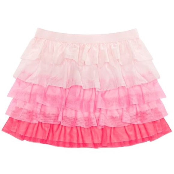 Epic Threads Other - Toddler Girls Tiered Colorblock Skirt